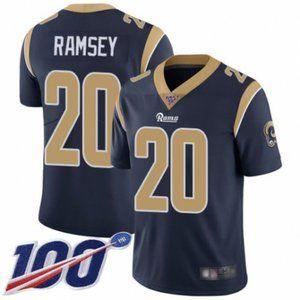 Rams Jalen Ramsey 100th Season Jersey 3